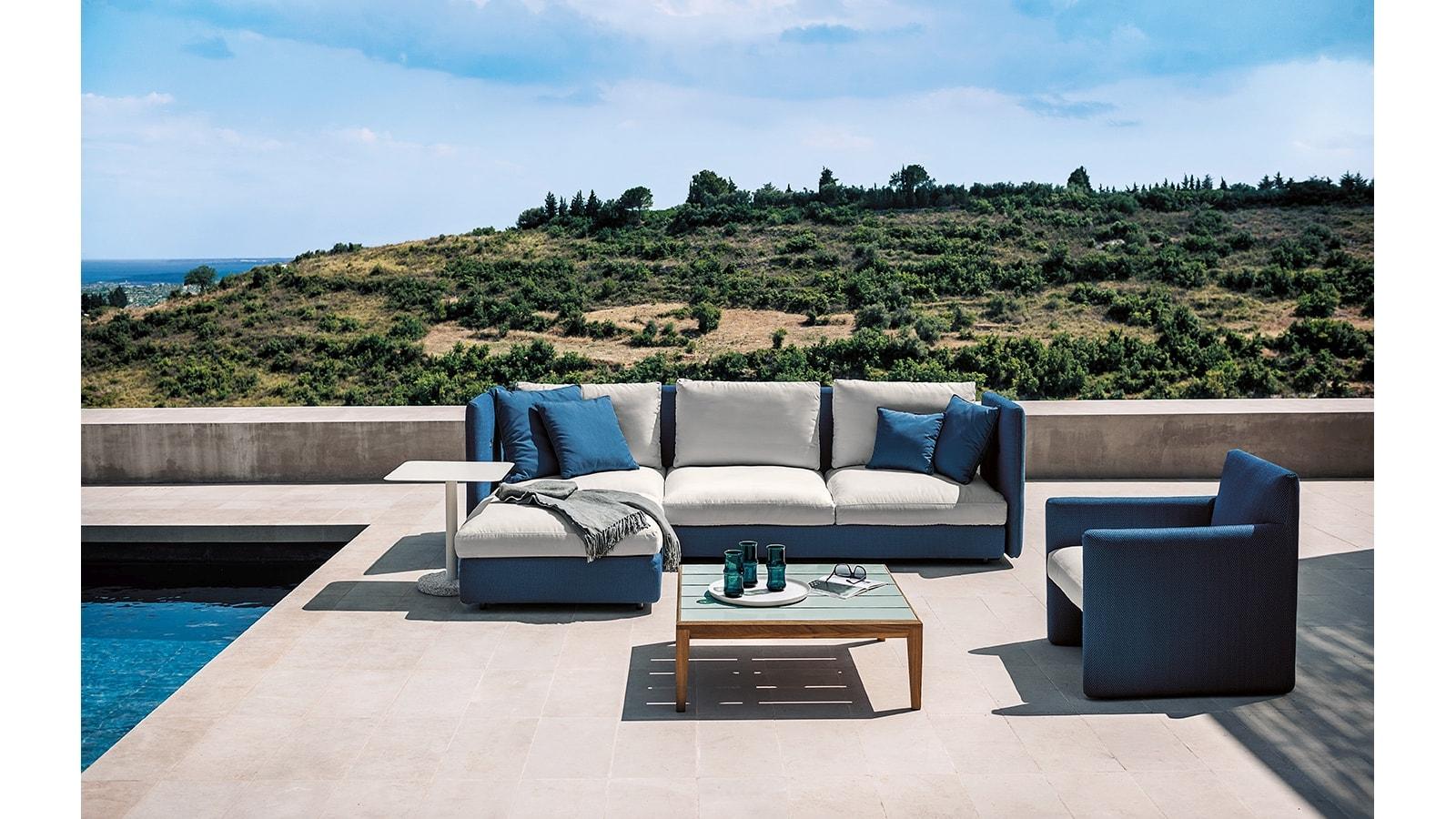 11 Double Sofa Roda Marlanteak Outdoor Furniture
