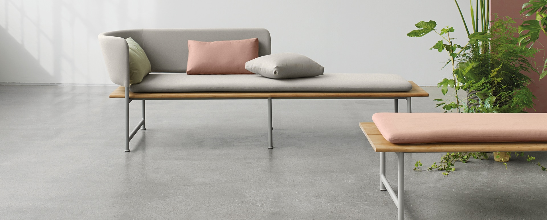 High-end outdoor furniture collection, Atmosphere by Cecilie Manz