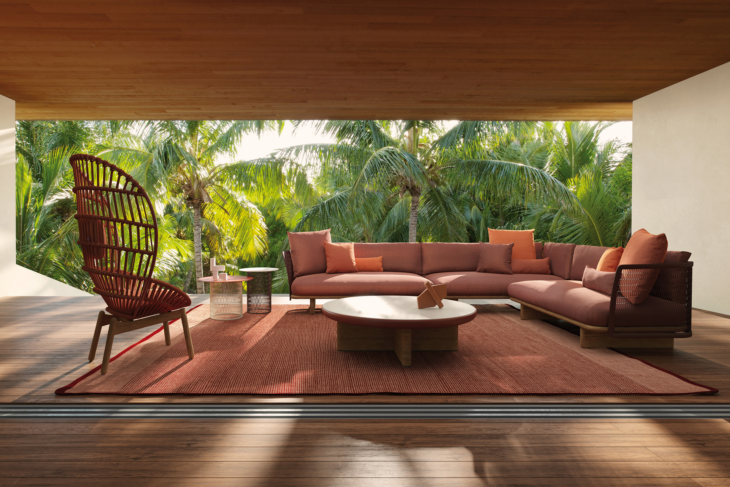 Cala outdoor furniture setting