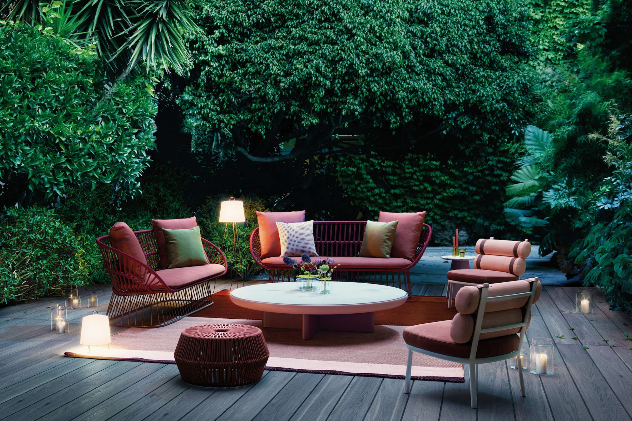 Cala Outdoor furniture set.