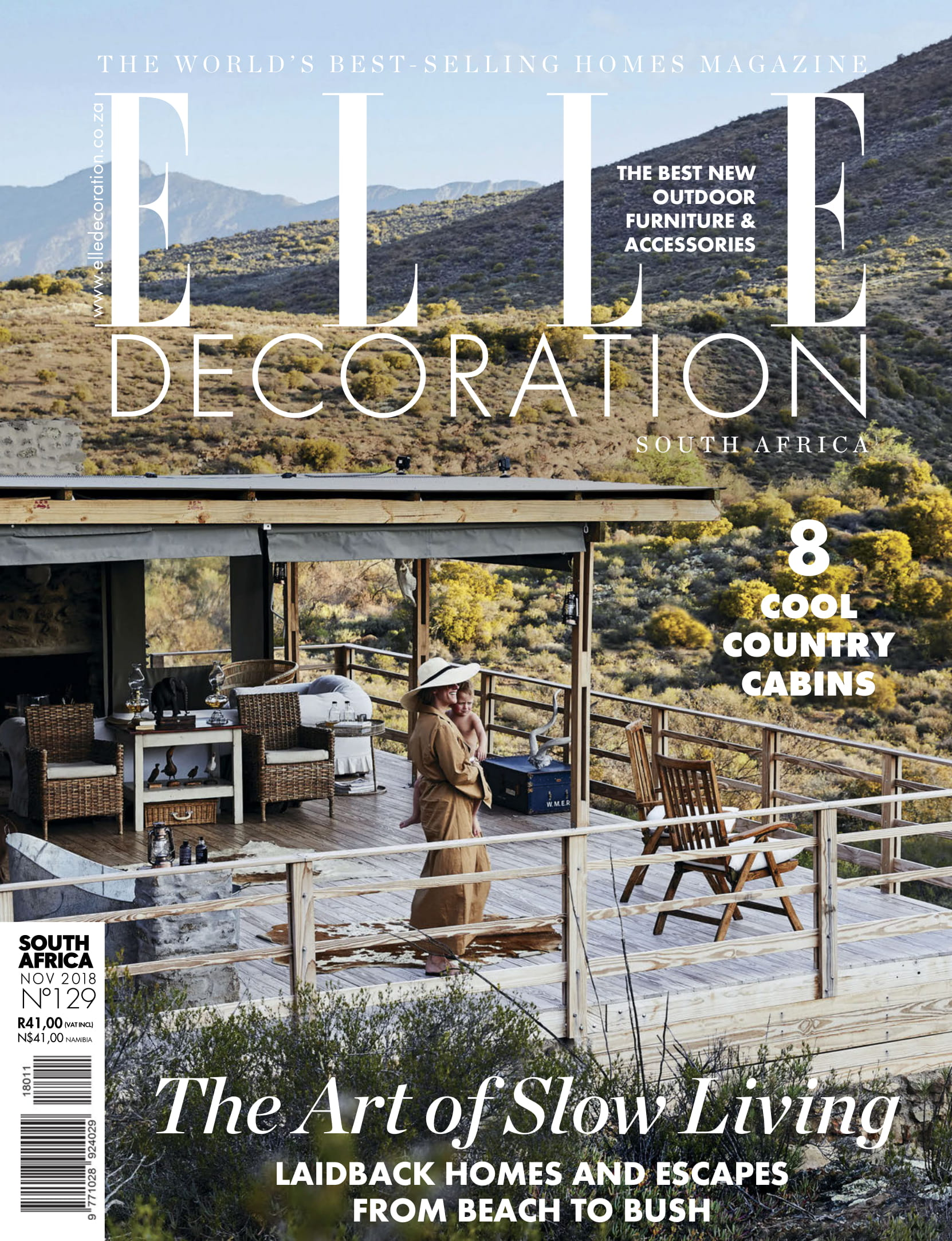 Marlanteak outdoor furniture in Elle Decor