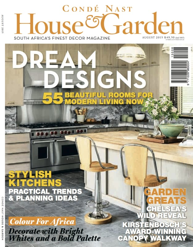 House & Garden August 2015 Cover Page
