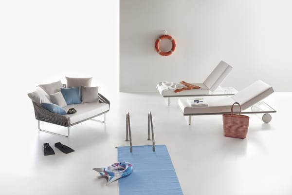 Kettal Bitta Daybed and lounger