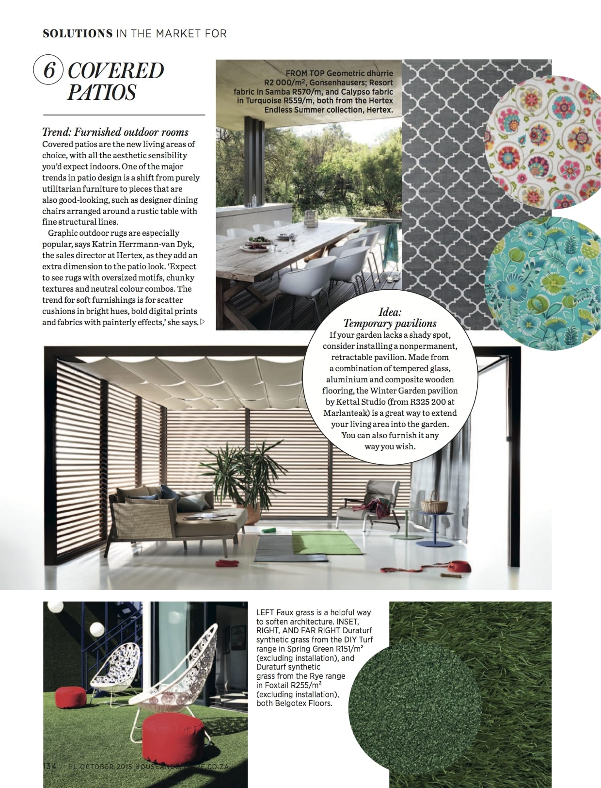 MARLANTEAK House  Leisure October 2015 Page 2 (2)