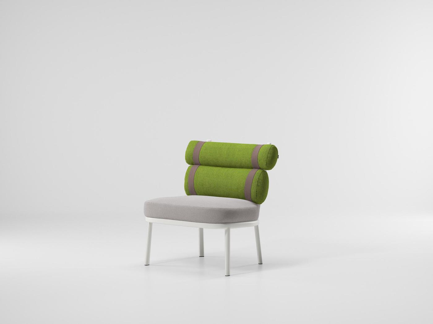 Roll easy outdoor chair by Patricia Urquiola for Kettal