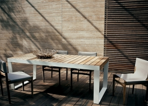 SPINNAKER extendable table_ROAD chairs