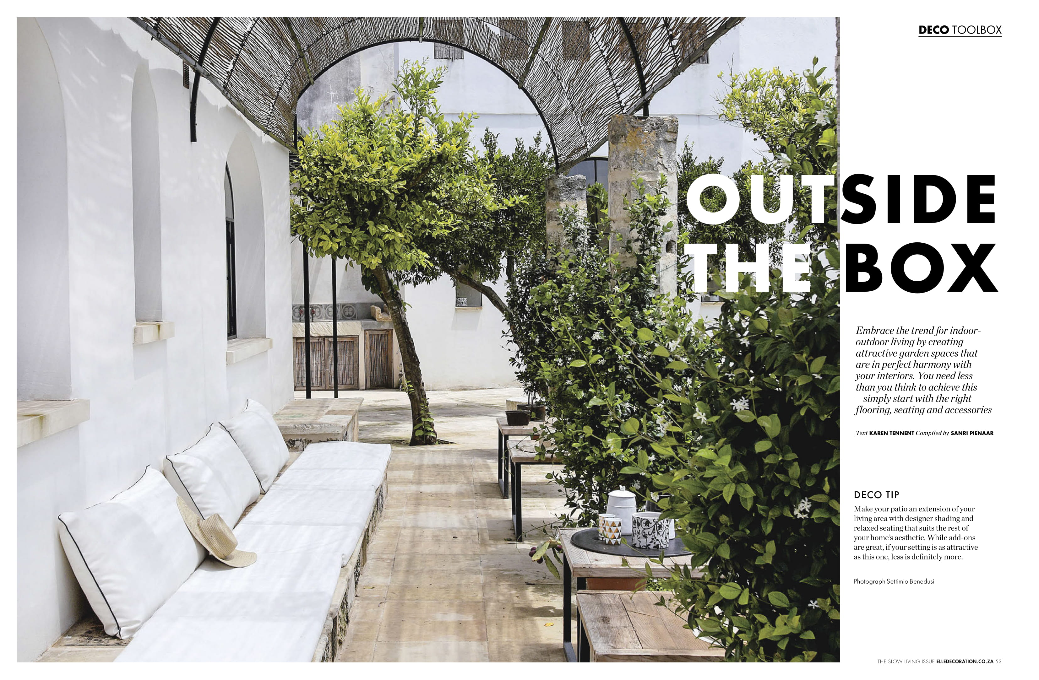 Outside the box with Elle Decor