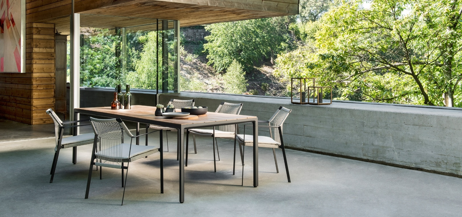 Nodi High end outdoor furniture collection by Tribu